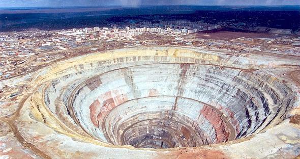 מכרה יהלומים של אלרוסה, צילום: Idex