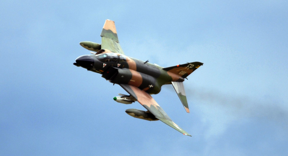 מטוס F4 פאנטום אמריקאי בווייטנאם
