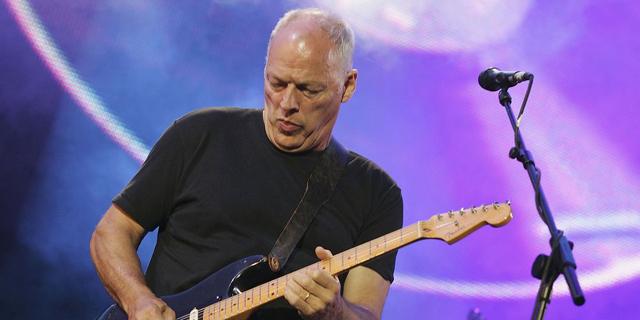 150 אלף דולר עבור חתיכה מפינק פלויד: דייוויד גילמור מוכר את הגיטרות שלו