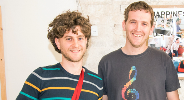 JoyTunes co-founders Yigal  Kaminka and Yuval Kamink. Photo: Omri Shapira