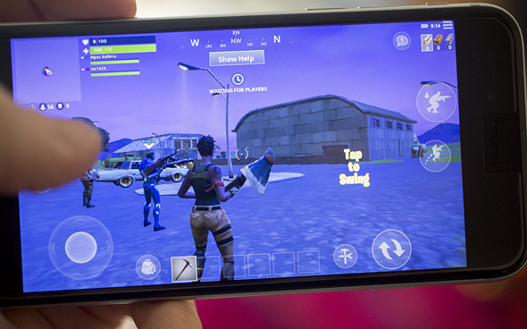 Fortnite. Photo: Bloomberg