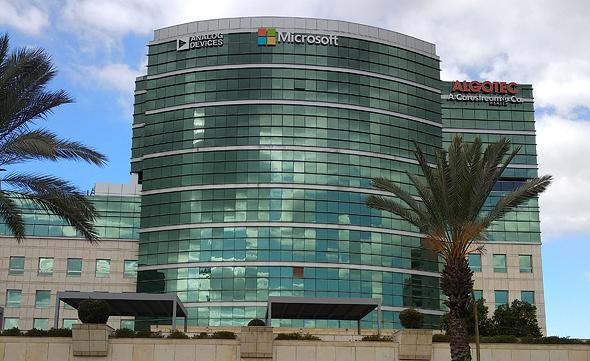 משרדי מיקרוסופט ישראל רעננה, צילום: ויקיפדיה