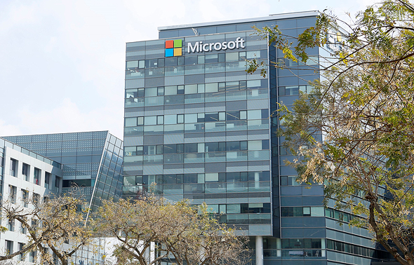 Microsoft offices in Israel. Photo: Microsoft