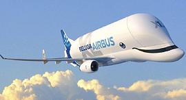 מטוס מטען סופר-טרנספורטר איירבוס הקברניט, צילום: luxurytraveldiary