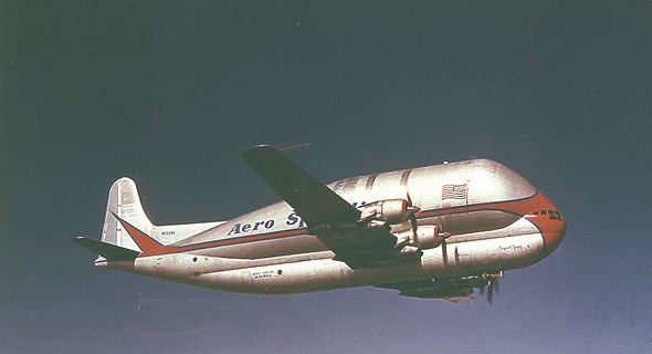 מטוס מטען סופר-טרנספורטר איירבוס הקברניט, צילום: NASA
