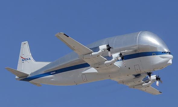 מטוס מטען סופר-טרנספורטר איירבוס הקברניט, צילום: AviationCV