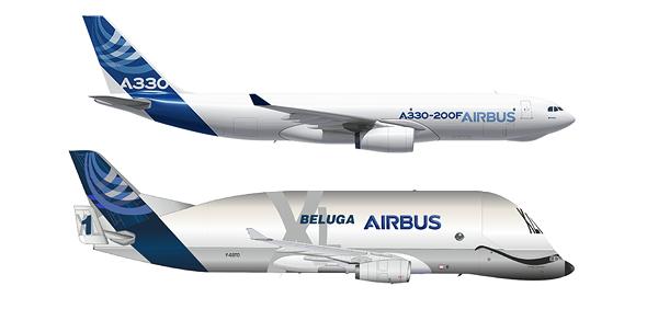 איירבוס A330, הגרסה הרגילה והגרסה המנופחת