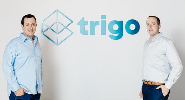 מימין: דניאל ומיכאל גבאי, מייסדי טריגו ויז'ן