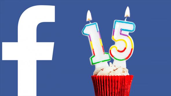 מוצרי פייסבוק רשתות חברתיות פייסבוק חוגגת 15, צילום: שאטרסטוק