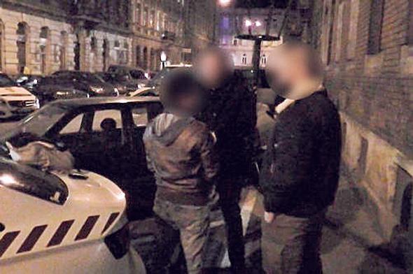 מעצרו של פינטו בבודפשט. השופט ההונגרי יכריע מה חשוב יותר לאוהדים, צילום: איי אף פי