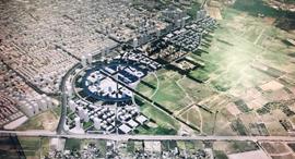 """הדמית מזרח רחובות זירת הנדל""""ן, הדמיה: האדריכל מנדי רוזנפלד, באדיבות עיריית רחובות"""