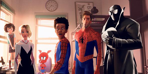 """""""ספיידרמן: ממד העכביש"""". """"ויתרנו על טשטוש תנועה ריאליסטי כדי לשמור על תחושה של קומיקס"""""""