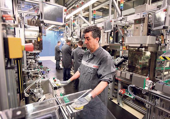 מפעל בגרמניה