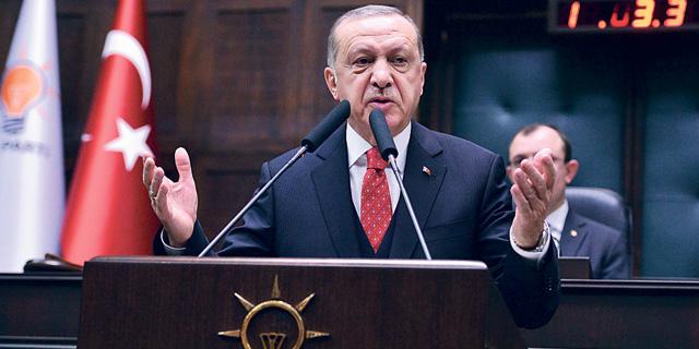 נשיא טורקיה ארדואן, צילום: איי אף פי