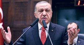 נשיא טורקיה רג'פ טאיפ ארדואן, צילום: איי אף פי