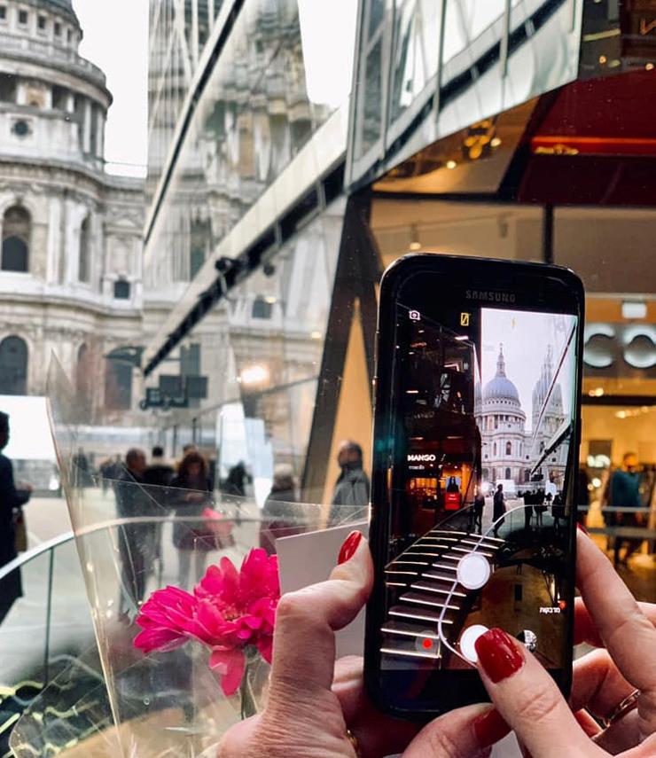 """תחנה בסיור האינסטגרם של """"הלונדונית"""", צילום: Instagram(the_londonit)"""