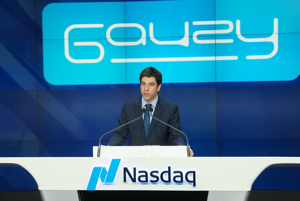 Gauzy co-founder and CEO Eyal Peso. Photo: Libby Greene, Nasdaq