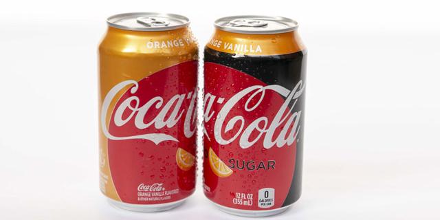 אחרי יותר מעשור: טעם חדש לקוקה קולה - וניל-תפוזים