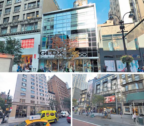 שלושת הנכסים העיקריים של וורטון בניו יורק, צילום: גוגל סטריס וויו