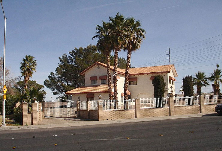 """הבית ה""""רגיל"""" מעל הבונקר, צילום: Realtor"""