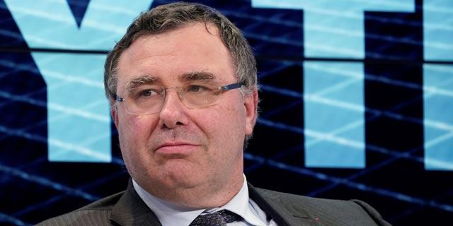 """פטריק פויאן, מנכ""""ל טוטאל, צילום: רויטרס"""