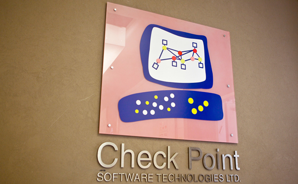 Check Point logo. Photo: Reuters