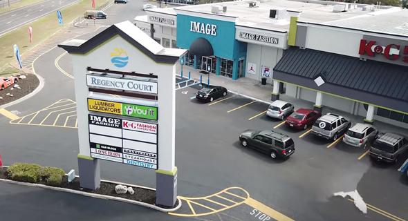 מרכז קניות של חברת מישורים בפלורידה