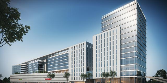"""מתחם ההייטק בכפ""""ס מתרחב: נחתם היתר הבנייה לבניין משרדים נוסף"""