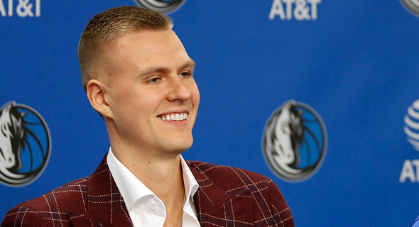 Kristaps Porzingis transferring to the Dallas Mavericks. Photo: AP