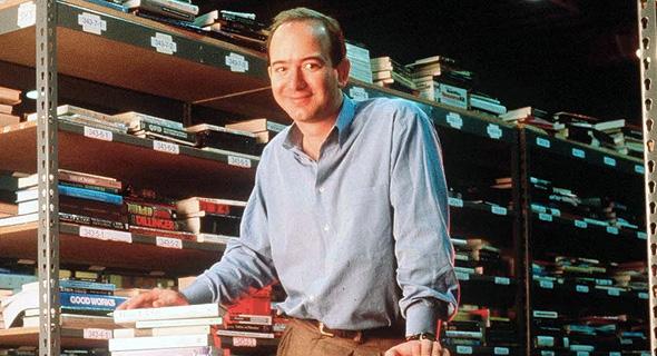 ג'ף בזוס מייסד אמזון 1997, צילום: גטי אימג'ס