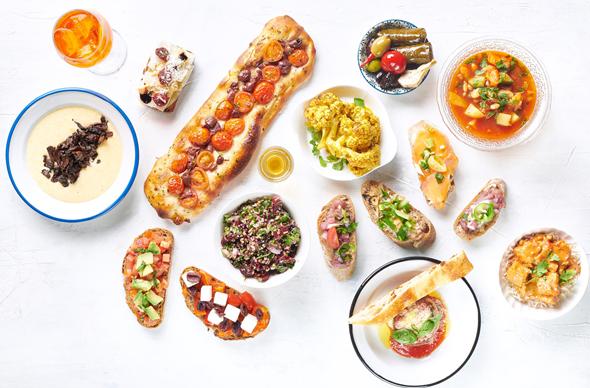 ארוחות טעימה בשרונה מרקט, צילום: נמרוד סונדרס