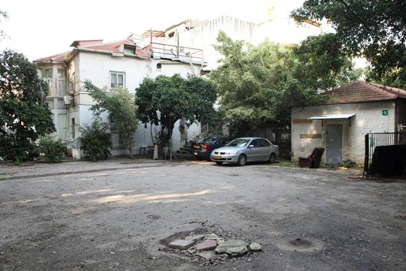 השטח בשדרות הילד ברמת גן. נמצא בדיונים משפטיים, צילום: עמית שעל