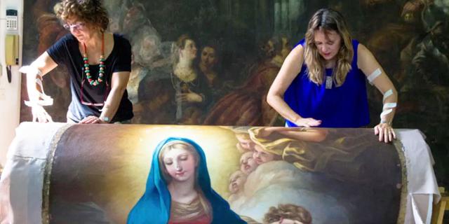 לדה וינצ'י יש אחות: המיזם להצלת יצירות היסטוריות של אמניות