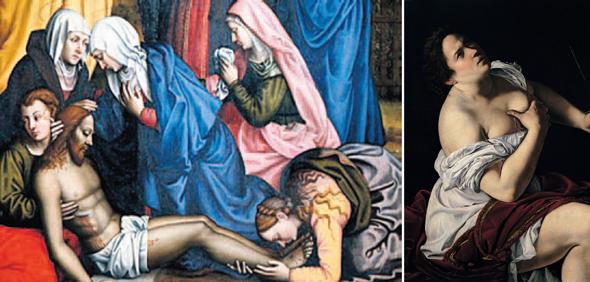 """נשות AWA בעבודת שחזור. אפילו צוותי המוזיאונים לא ידעו על היצירות שאצלם; """"יהודית והמשרתת שלה"""" (1615) של ארטמיזיה ג"""