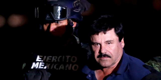 ברון הסמים אל צ'אפו הורשע בכל הסעיפים נגדו