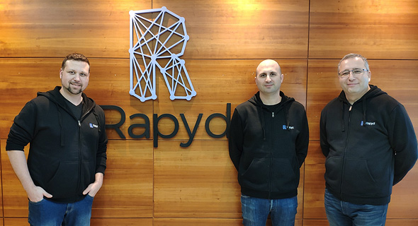 Rapyd's co-founders. Photo: Tomer Hazan