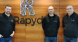 מימין עומר פריאל אריק שטילמן ארקדי קרפמן מייסדי ראפיד rapyd, צילום: תומר חזן