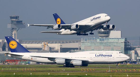 מטוסים של לופטהנזה