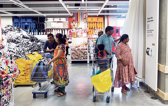 IKEA shoppers (illustration). Photo: Bloomberg
