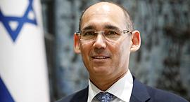 נגיד בנק ישראל אמיר ירון טקס ההשבעה דצמבר 2018, צילום: רויטרס
