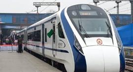 הרכבת המהירה ביותר בהודו, צילום: PTI