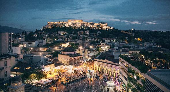 אתונה. משקיעים כבר החלו לצאת ממנה לערים אחרות