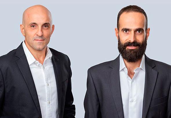 """ניר שמואל (מימין) ושי מימוני, מנכ""""לים משותפים בקבוצת אסיה"""