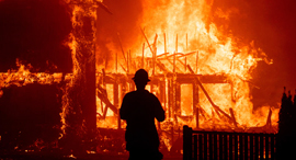 שריפות שפרצו ב קליפורניה ב־ 2018, צילום: אי.פי