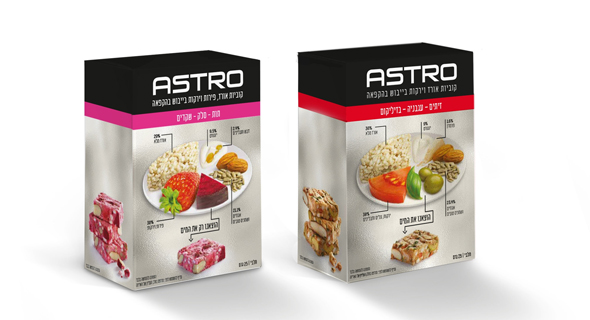 Strauss' new Astro snack. Photo: Sivan Farage