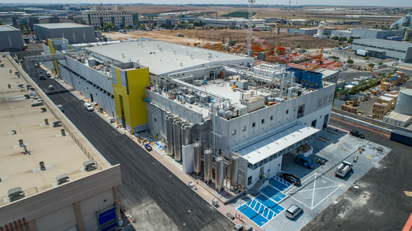 מבט על המפעל החדש בקריית גת