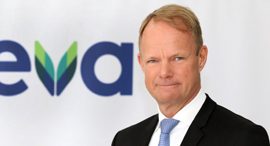 Teva CEO Kåre Schultz. Photo: Sivan Farage