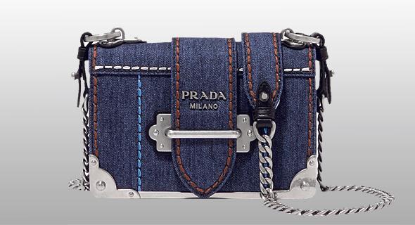 התיק של פראדה, צילום: www.net-a-porter.com