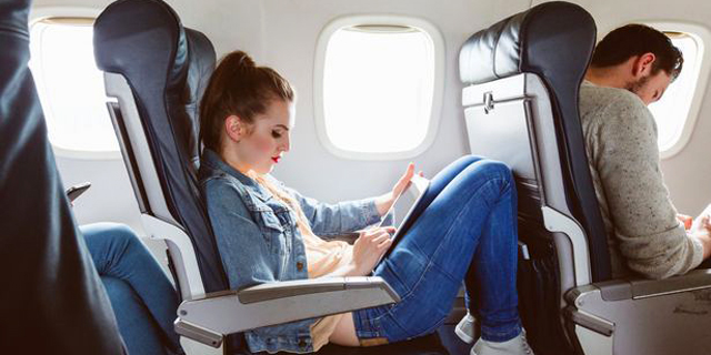 הכפתור הסודי במושב המטוס שיהפוך את הטיסה לנוחה יותר
