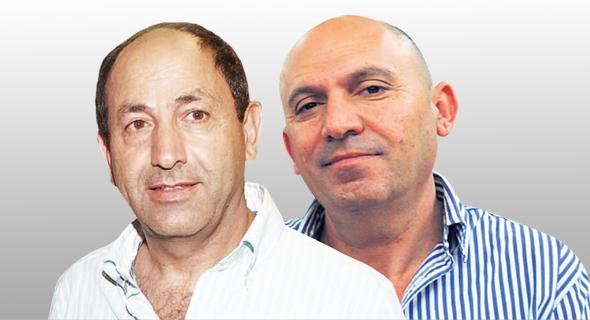 מימין שלום נעמן רמי לוי, צילומים: חיים הורנשטיין, אוראל כהן